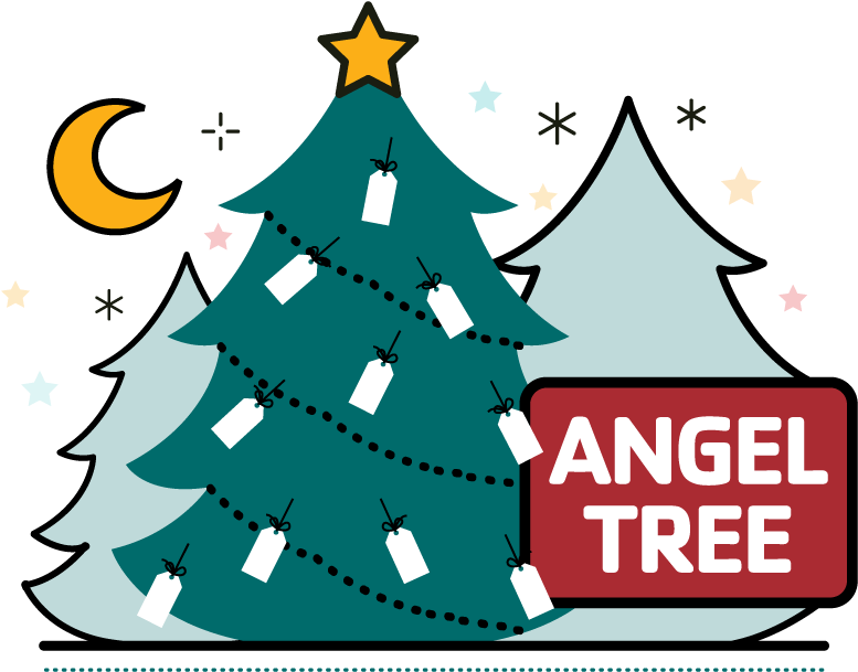 Angel gift tree clipart transparent download Angel Tree Clipart - Full Size Clipart (#145243) - PinClipart transparent download