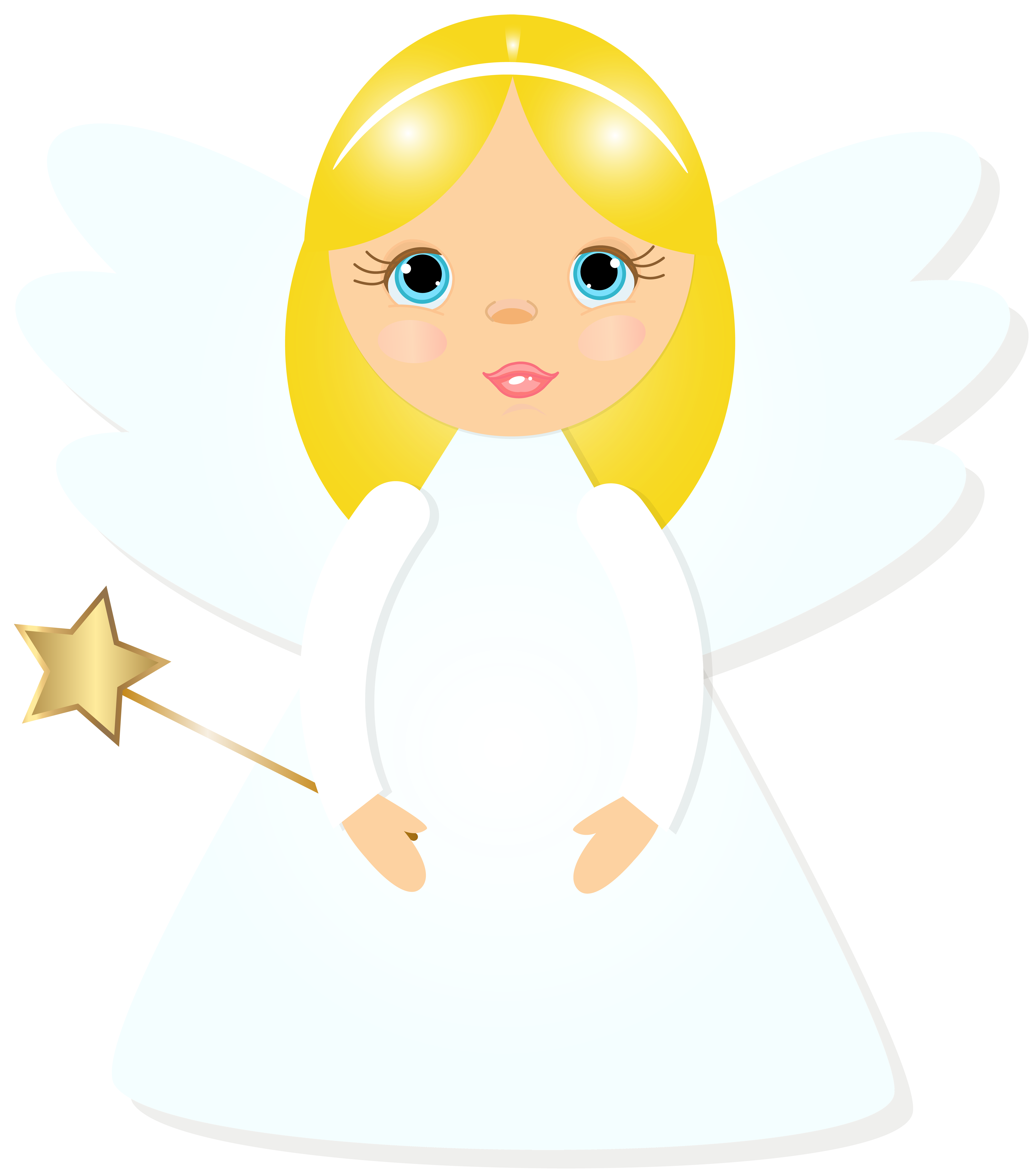 Angel halloween clipart jpg free library Christmas Angel Transparent PNG Clip Art Image | Gallery ... jpg free library