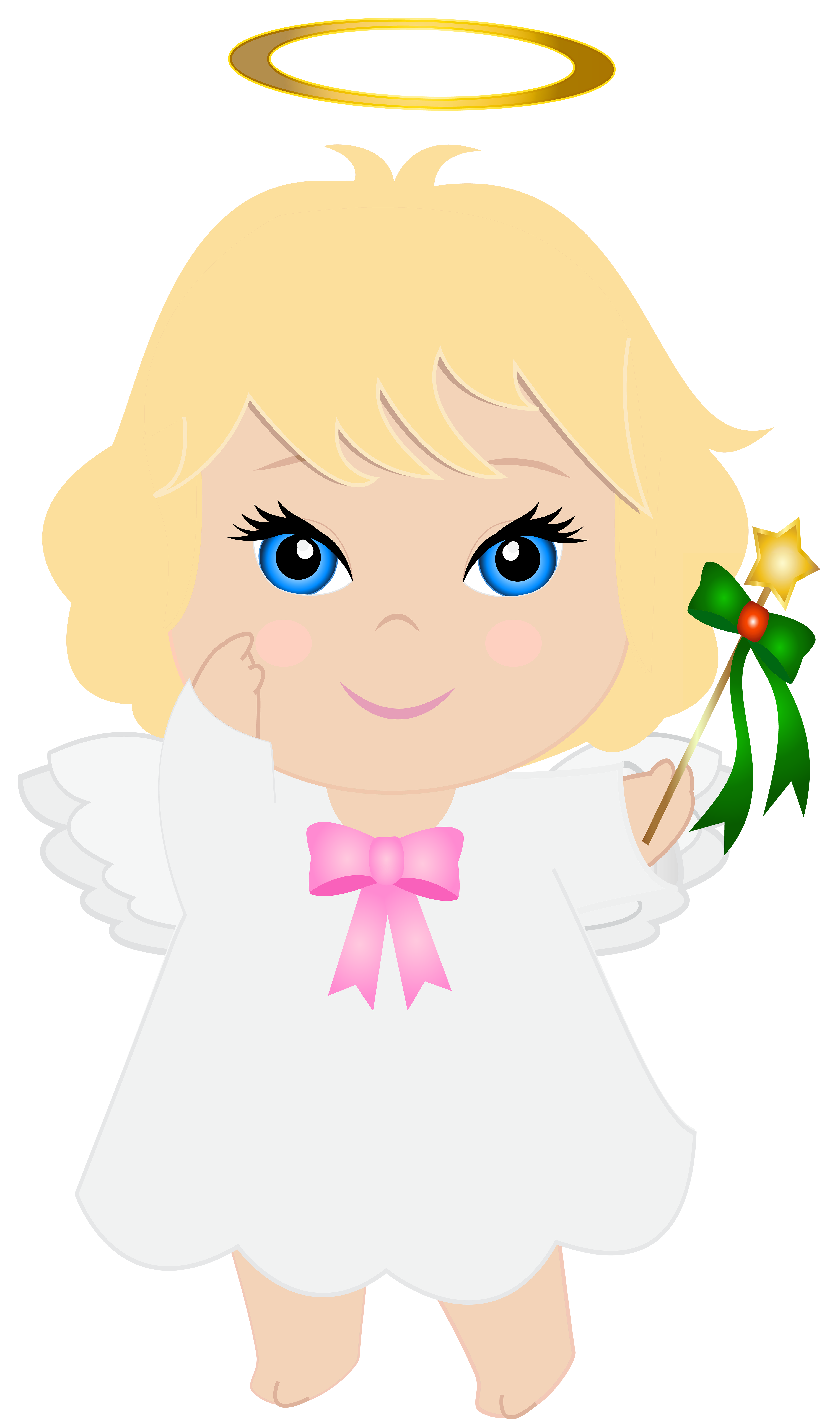 Angel halloween clipart vector free stock Baby Angel Clip Art PNG Image | Gallery Yopriceville - High-Quality ... vector free stock