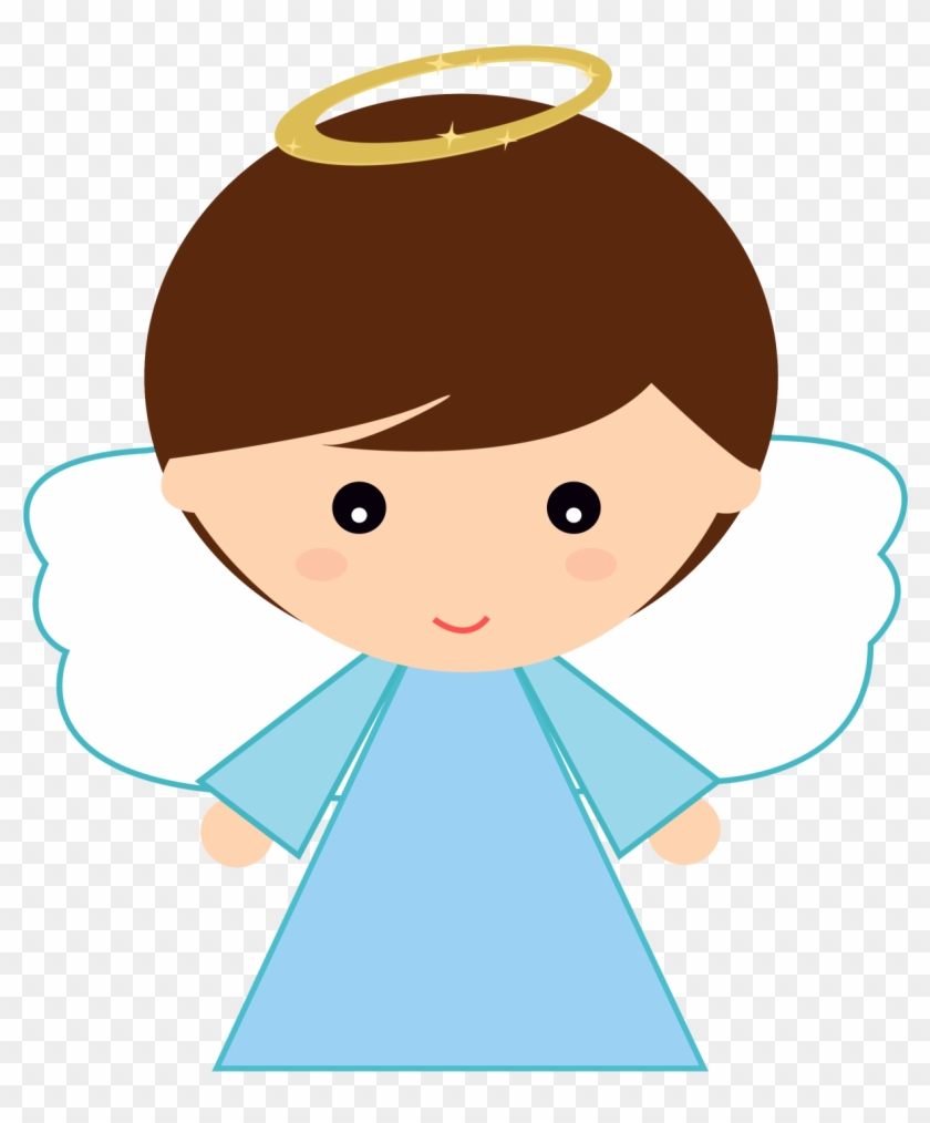 Angel hd clipart png library stock Vector Angel Baby Clipart - Angelitos De Bautizo Tiernos, HD Png ... png library stock