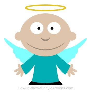 Angel head ring clipart image free download Pictures Of Cartoon Angels | Free download best Pictures Of Cartoon ... image free download