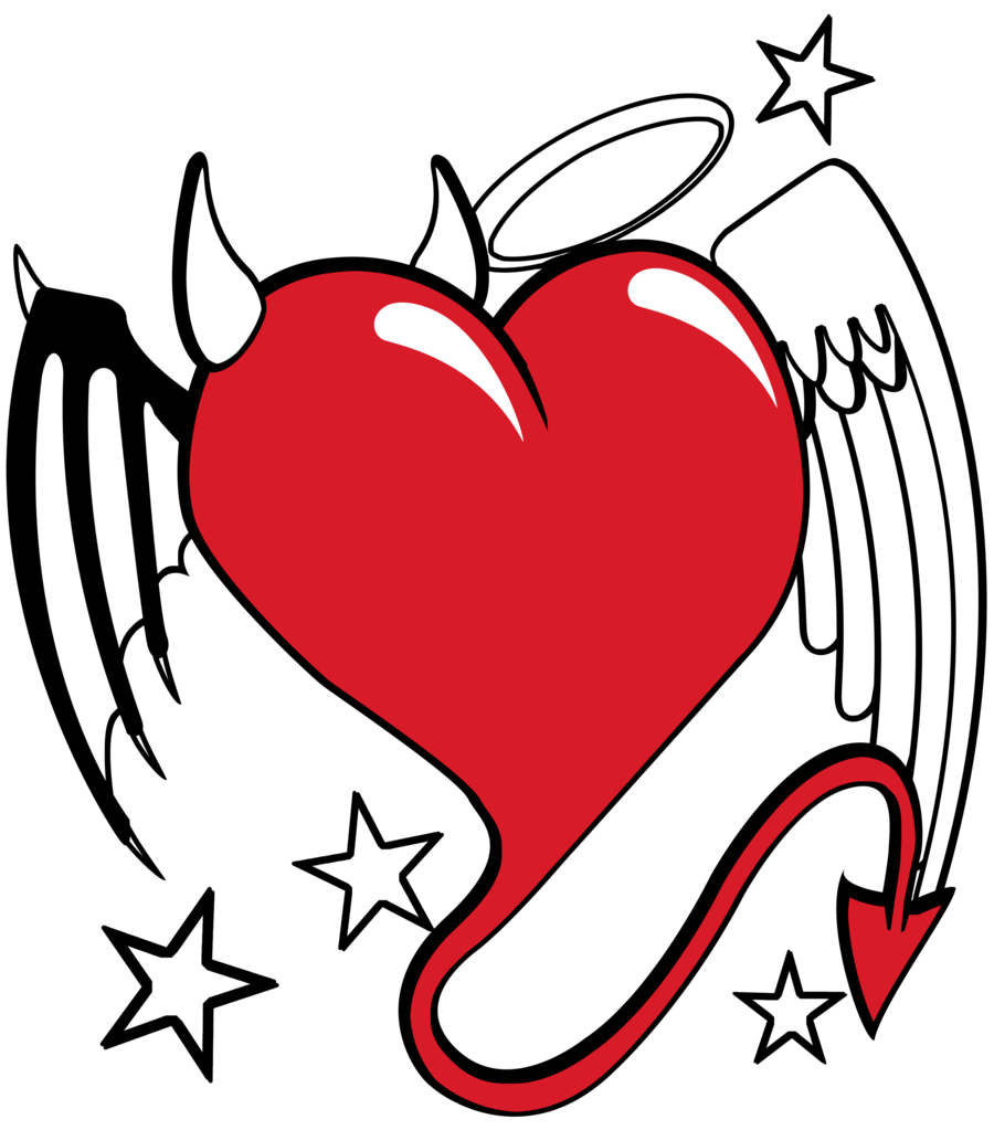Heart with wings and halo clipart clipart transparent stock 28+ Collection of Angel Heart Drawing | High quality, free cliparts ... clipart transparent stock
