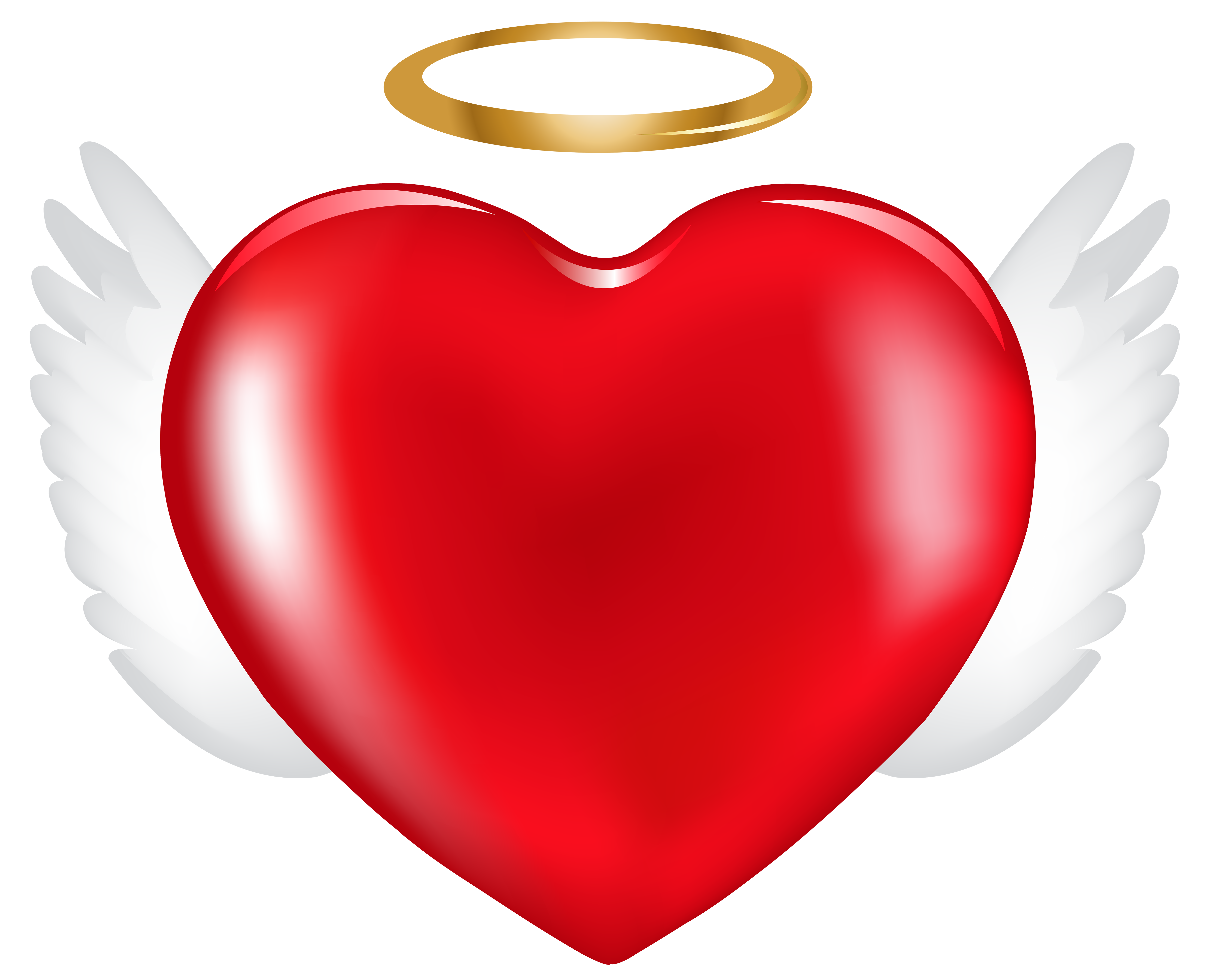 Angel heart clipart jpg library Angel Heart PNG Clip Art Image   Gallery Yopriceville - High ... jpg library
