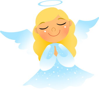 Angel kneeling and praying clipart clipart freeuse Angel clip art clipart freeuse