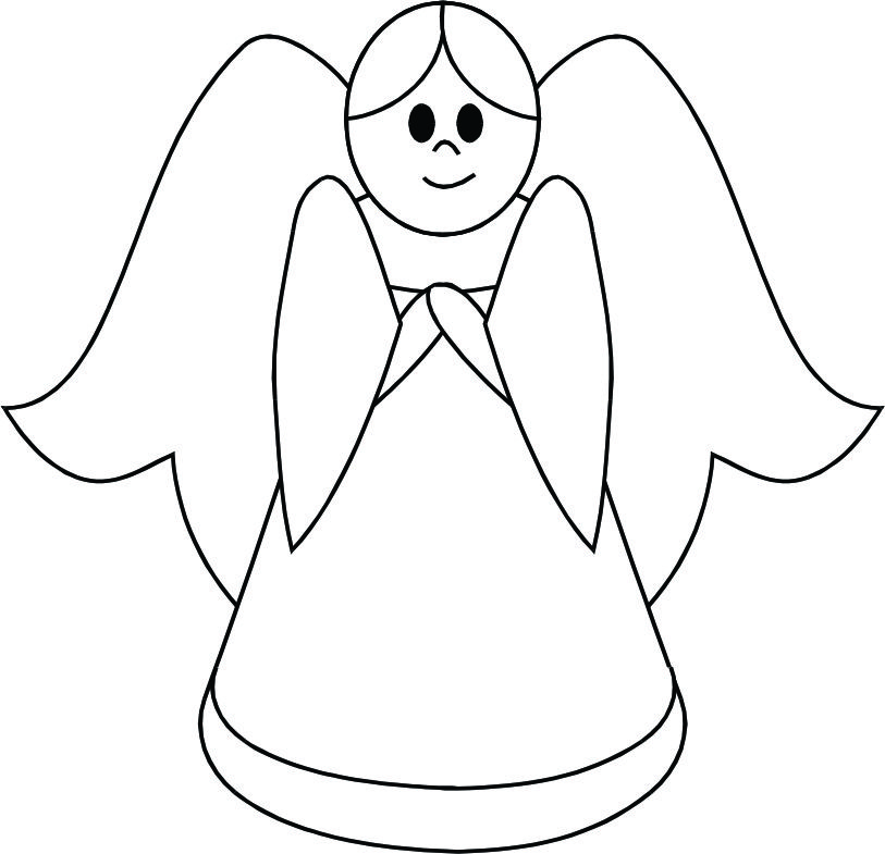 Angel line drawing clipart clip free Free Angel Line Drawing, Download Free Clip Art, Free Clip Art on ... clip free