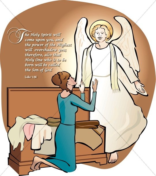 Angel mary joseph clipart banner royalty free download Angel talking to Joseph in a Dream About Mary | Nativity Clipart banner royalty free download