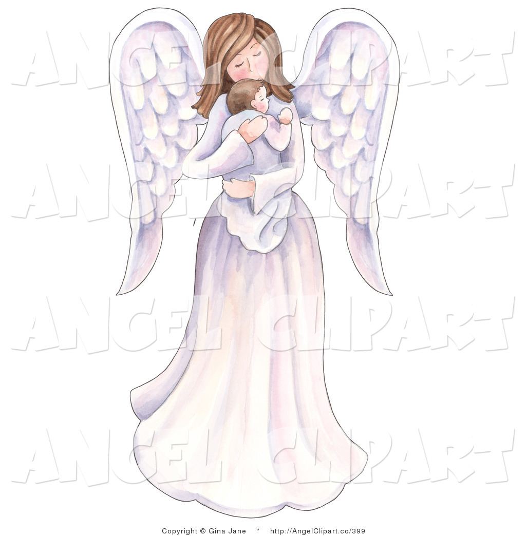 Angel moms clipart jpg library download clipart of an angel mother and her children 20 free Cliparts ... jpg library download