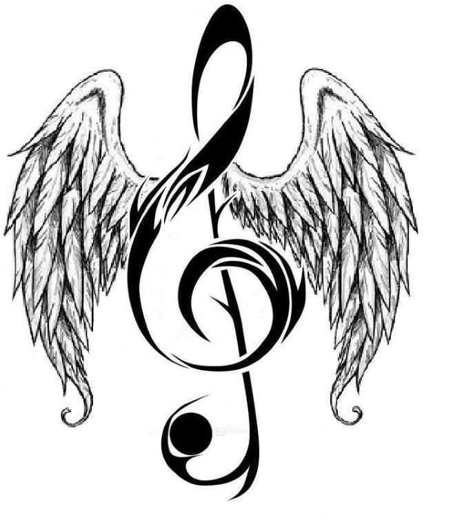 Angel music notes clipart png royalty free Free Music Note Pic, Download Free Clip Art, Free Clip Art on ... png royalty free