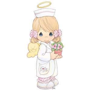 Angel nurse clipart svg download Silhouette Design Store - View Design #203563: angel nurse svg download