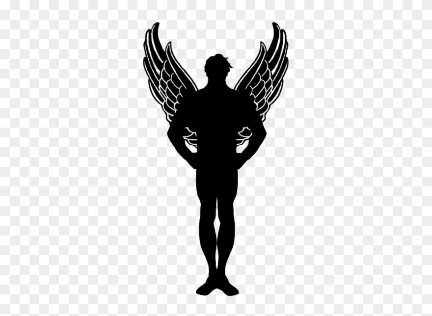 Angel of death cliparts svg freeuse download Freeuse Stock Angel Of Death Clipart - Black Wings - Png Download ... svg freeuse download