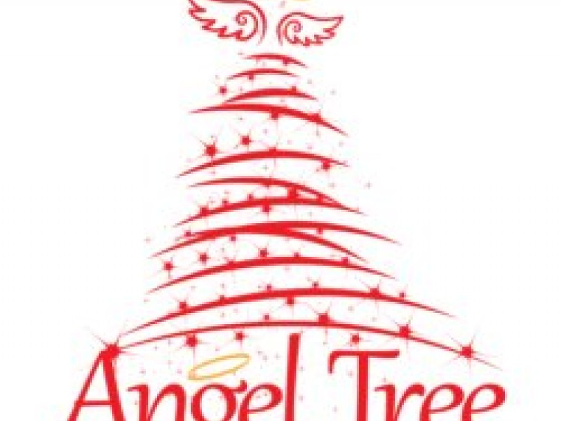 Angel on a tree clipart banner stock Angel tree clipart 3 » Clipart Station banner stock