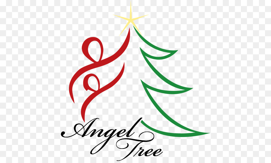Angel on a tree clipart graphic transparent Christmas Tree Line clipart - Tree, Angel, Leaf, transparent clip art graphic transparent