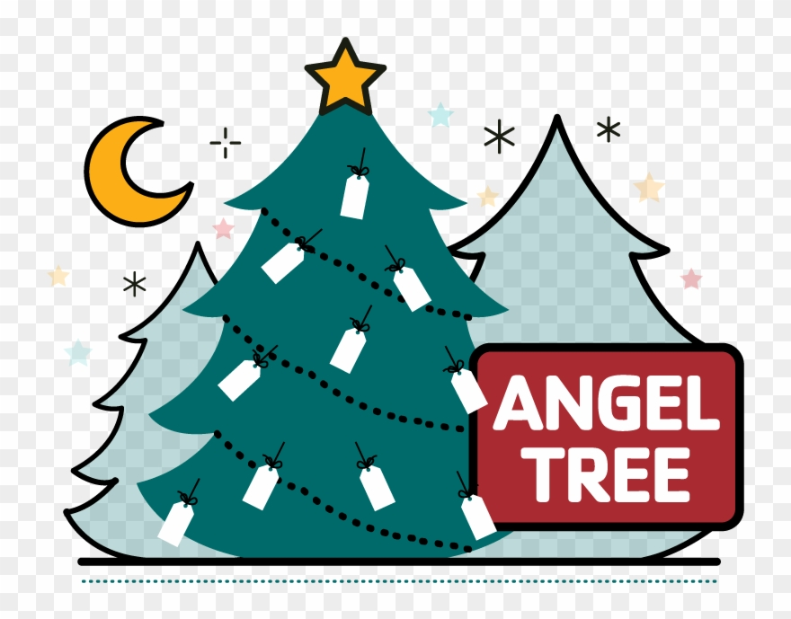Angel on a tree clipart banner free download Angel Tree Clipart (#145243) - PinClipart banner free download