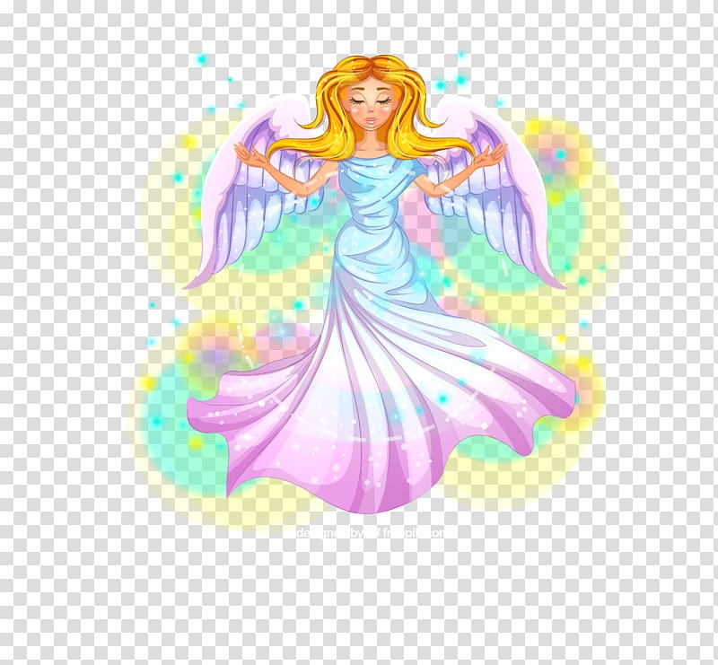 Angel sitting on ribbon clipart vector transparent download Angel , Beautiful angel transparent background PNG clipart | HiClipart vector transparent download