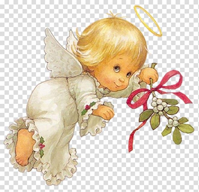 Angel sitting on ribbon clipart clip black and white Angel Cherub , Cute Christmas Angel Free , cherub angel illustration ... clip black and white