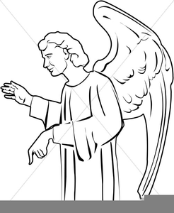Angel talks to mary clipart banner royalty free stock Angel Speaking To Mary Clipart | Free Images at Clker.com - vector ... banner royalty free stock