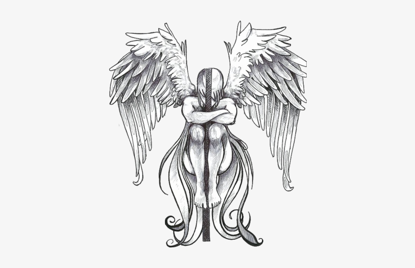 Angel tattoo clipart hd image free library Wings Tattoos Clipart Transparent Background - Angel Tattoo Png ... image free library