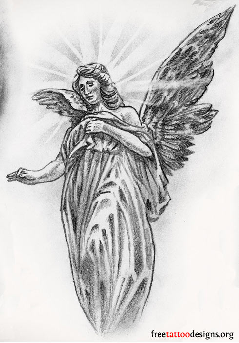 Angel tattoo clipart hd picture free download Free Tattoo Designs, Download Free Clip Art, Free Clip Art on ... picture free download