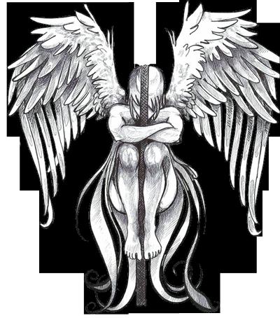 Angel tattoo clipart hd clipart free download Download Free png Angel Tattoos Png Clipart - DLPNG.com clipart free download