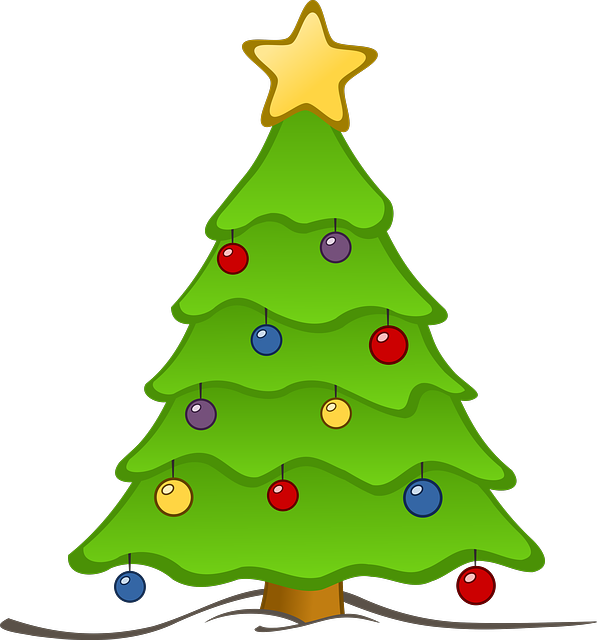 Christmas tree star clipart jpg stock Christmas Tree With Presents Clipart | Clipart Panda - Free Clipart ... jpg stock