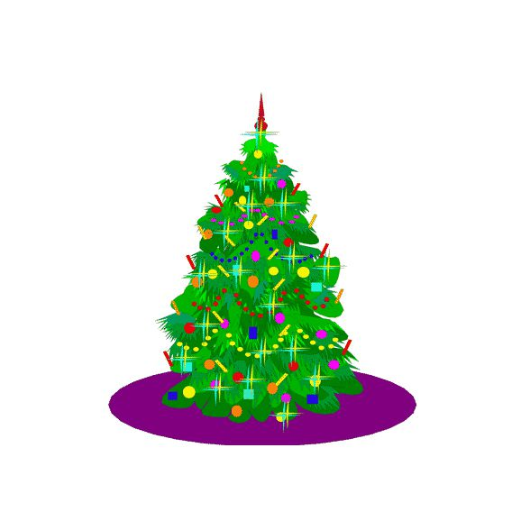 Blue and purple christmas contemporary tree clipart vector royalty free download 3,859 Free Christmas Clip Art Images for Everyone vector royalty free download