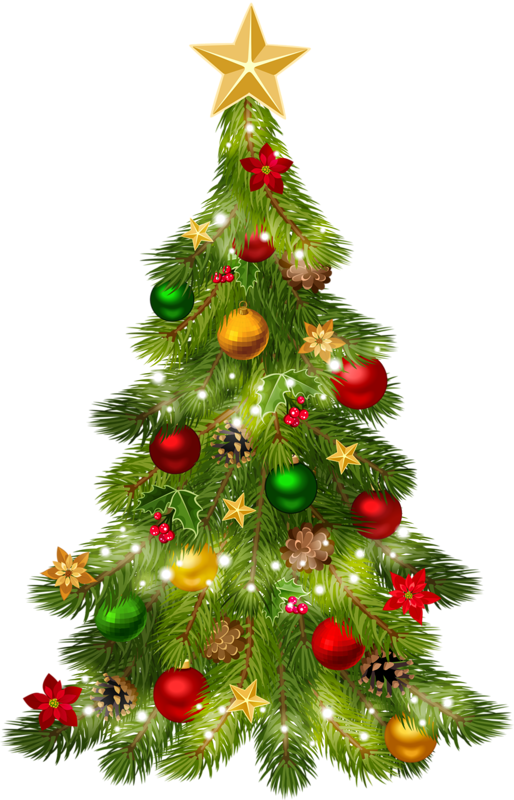 clipart christmas tree #12