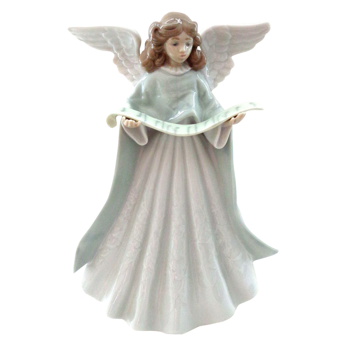 Angel tree topper clipart svg stock Lladro Angel Tree Topper with Scroll of Music   Pinterest   Tree ... svg stock