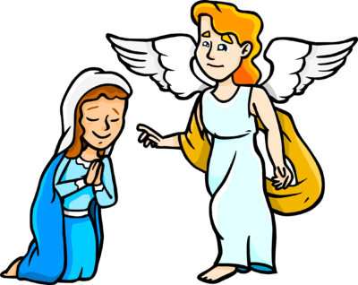 Angel visits mary clipart clip transparent library 1 clip transparent library