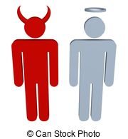 Angel vs devil clipart jpg library library Devil angel Illustrations and Clip Art. 2,697 Devil angel royalty ... jpg library library
