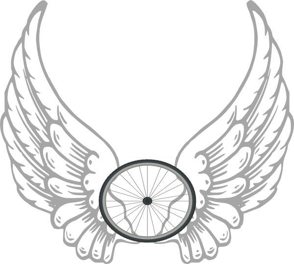 Angel wing patterns clipart.  best ideas about