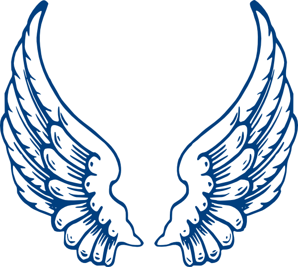 Angel wing patterns clipart jpg freeuse Angel Wing Templates Clipart - Clipart Kid jpg freeuse