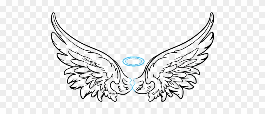 Angel wing pictures clipart free download How To Draw Angel Wings In A Few Easy Steps - Drawing Angel Wings ... free download