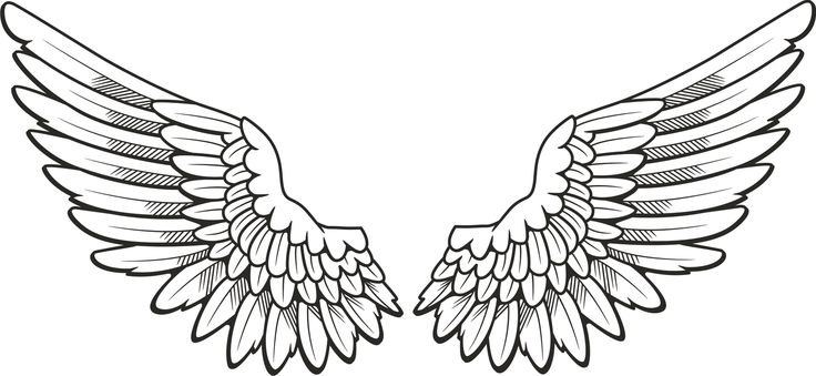 Angel wing pictures clipart clipart royalty free Angel Wings Clip Art Christmas | Clipart Panda - Free Clipart Images clipart royalty free