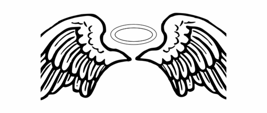 Angel wings clipart images picture black and white download Halo Clipart Broken Angel - Angel Wings Vector Png, Transparent Png ... picture black and white download