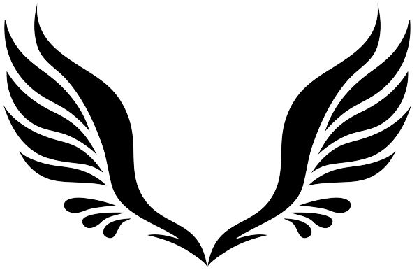 Wings angel clipart svg library library Free Wings Cliparts, Download Free Clip Art, Free Clip Art on ... svg library library
