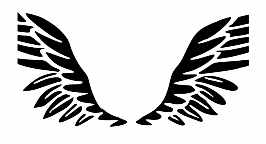 Angels clipart wings svg transparent download Angel Wing Clipart - Clip Art, Transparent Png Download For Free ... svg transparent download
