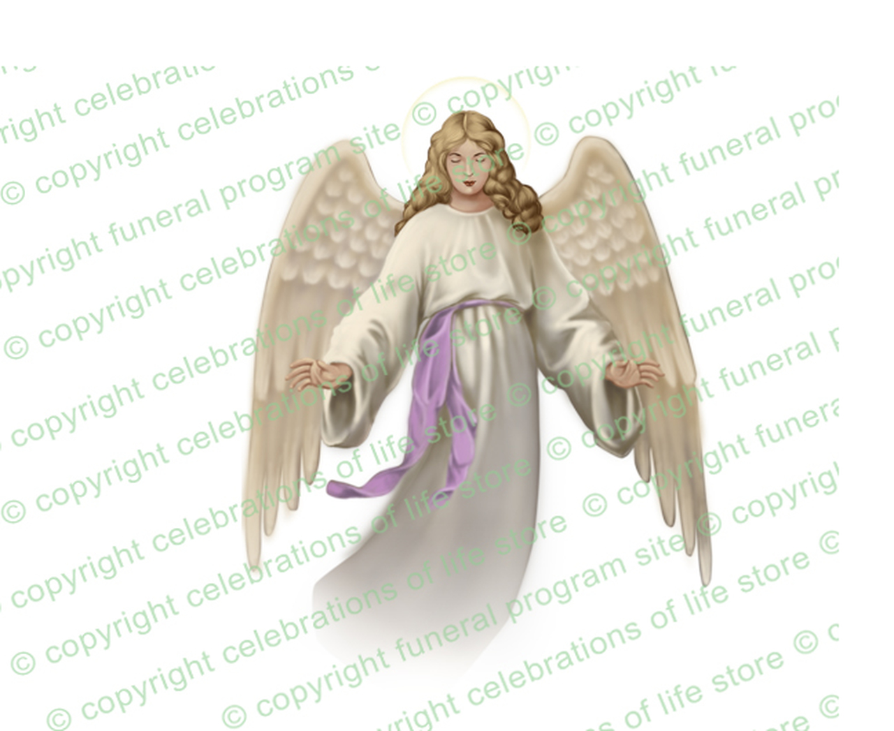 Angels joyous celebration clipart vector royalty free Holy Angel Vector Clip Art (Light/Dark Skin) vector royalty free