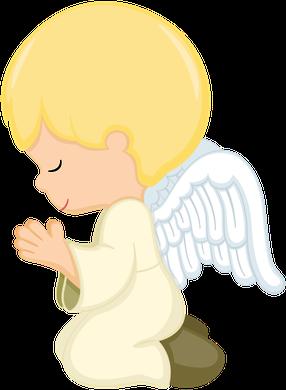 Angeles de rodillas clipart png Pin de Marina ♥♥♥ en Primeira Comunhão   Angelito bautismo ... png