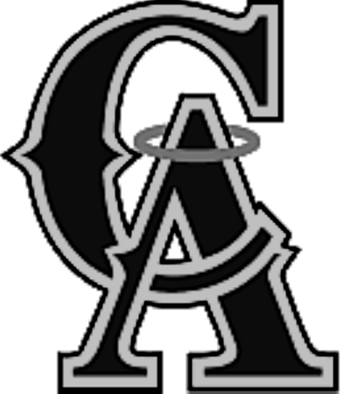 Angels baseball clipart svg black and white library California angels Logos svg black and white library
