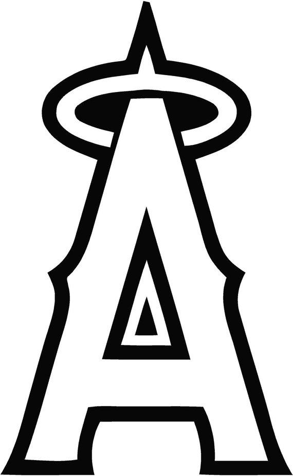Angels baseball logo clipart svg black and white download Angels Baseball Clipart | Free download best Angels Baseball Clipart ... svg black and white download