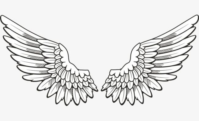 Angels clipart wings jpg royalty free Hand-painted Angel Wings PNG, Clipart, Angel, Angel Clipart ... jpg royalty free