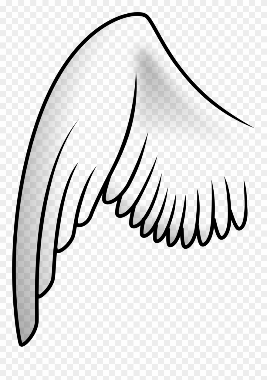 Angels clipart wings drawing svg royalty free stock Tattoo Clip Art Download Angel Wing Drawing - Wing Clipart - Png ... svg royalty free stock