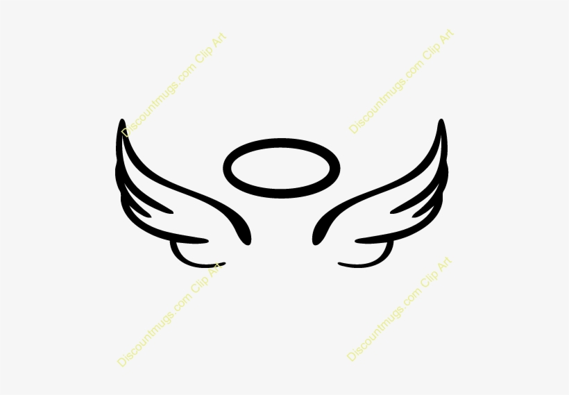 Angels clipart wings drawing royalty free Angel Costumes - Easy To Draw Angel Wings Halo - Free Transparent ... royalty free