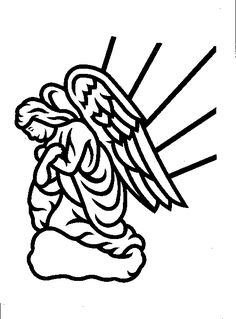 Angels for headstones clipart graphic black and white library 70 Best Angel Headstone Designs images in 2018 | Design, Funeral ... graphic black and white library