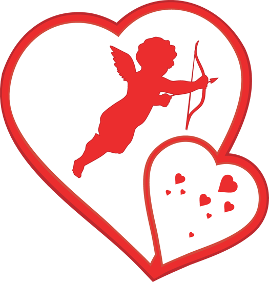 Angels hearts clipart clipart library download Free Valentine Angels Cliparts, Download Free Clip Art, Free Clip ... clipart library download