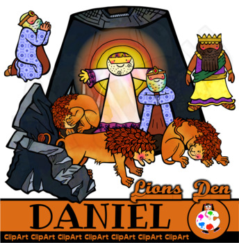 Clipart for daniel in the lion s den