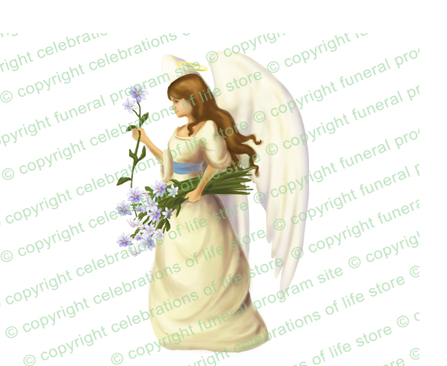 Angels joyous celebration clipart graphic library Florentine Angel Vector Clip Art (Light/Dark Skin) graphic library