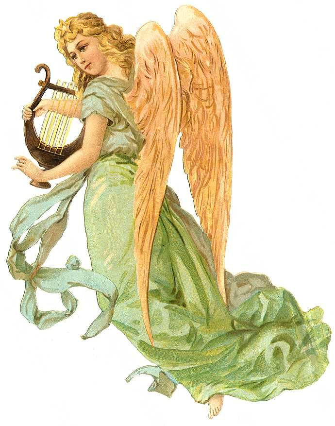 Angels victorian clipart png black and white stock Vintage Angel Clip Art Free | Vintage Angel & fairies (6) | My Love ... png black and white stock