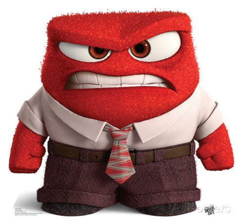 Anger inside out clipart image royalty free library Disney/Pixar's Inside Out - Anger Lifesize Standup | Disney, Good ... image royalty free library