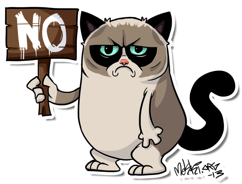 Clipart take care cat image library stock 28+ Collection of Grumpy Cat Line Drawing | High quality, free ... image library stock